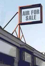 [Extra air for sale!]