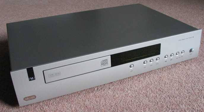 [Arcam FMJ CD-36 CD player]