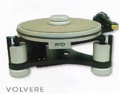 [Avid Volvere turntable]