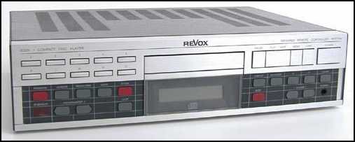 [Revox B226 CD player]