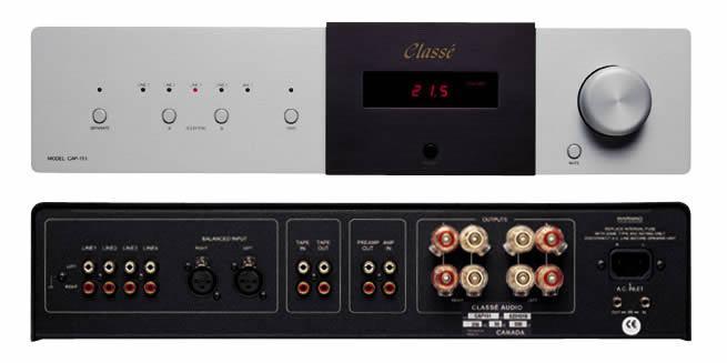 cap 151 integrated amplifier english. Black Bedroom Furniture Sets. Home Design Ideas