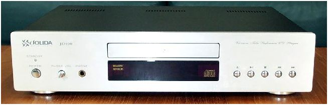 [JoLida JD-100A CD player]