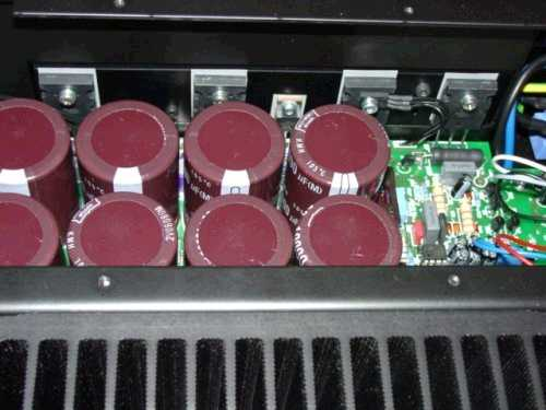 [Monoblock Amplifier's Detail]