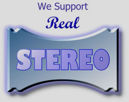 [We support Real Stereo!]