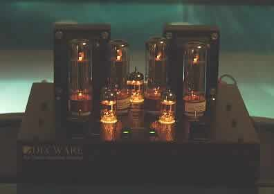 [Decware SE34-I with Glowing Tubes]