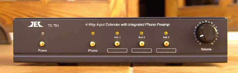 [T-Preamp front view]