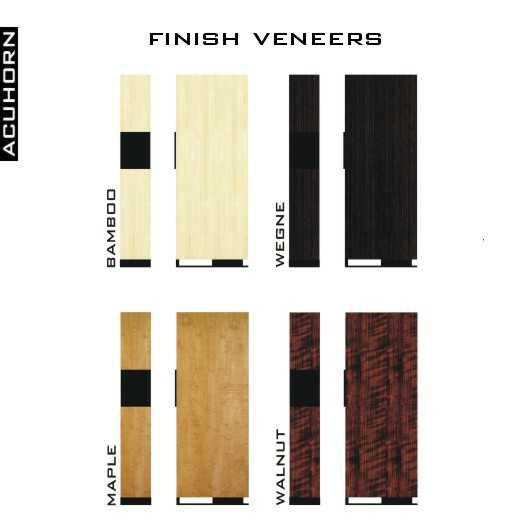 [Acuhorn Nero 125 finish veneers]