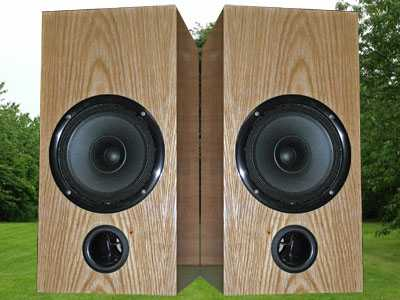 [Alacrity Audio Full-Range loudspeakers]
