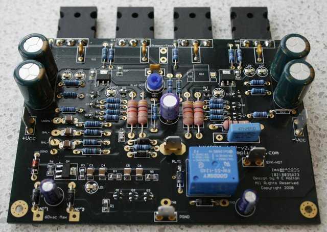 Diy High End Mosfet Amplifier