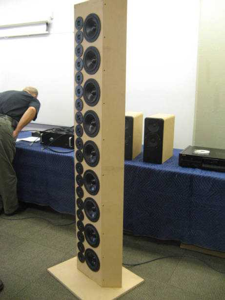Dipolo in configurazione line array