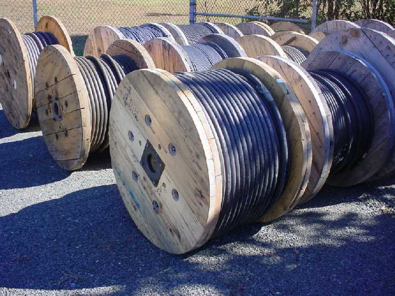 [Cable reels]
