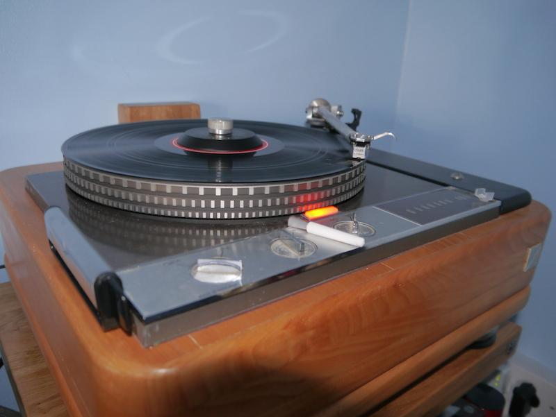 [Rega Carbon & in my Garrard/Rega Turntable]