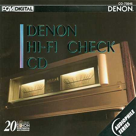 [Denon - Hi-Fi check CD]