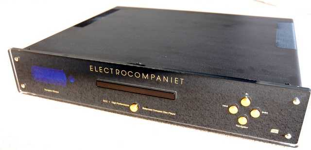 [Electrocompaniet ECC-1 CD player]
