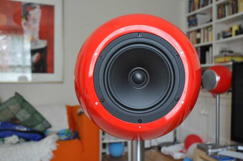 Spherical Speaker Enclosure Review Elipson Planet L Loudspeaker  English