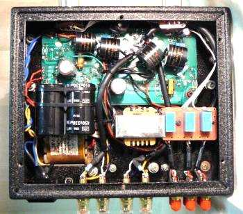 [Yarland FV-34C valve amplifier - internal view]