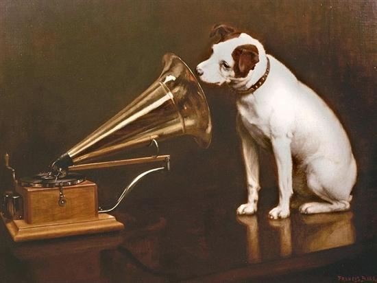 [With Gramophone]