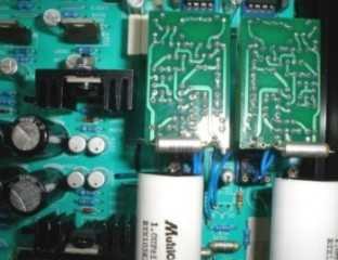 [The opamp module modules in an Arcam Alpha 5 CDP]