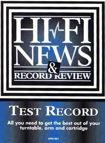 [The HFNRR test disc]