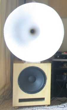 Jbl Sound System >> [Review - DIY] Inlow Paper Mache Horns loudspeakers
