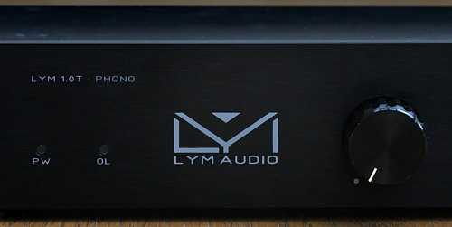 [Lym Audio Phono frontale]