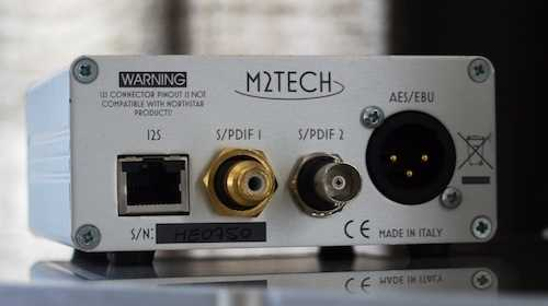 [M2Tech hiFace Evo USB to S/PDIF output interface]