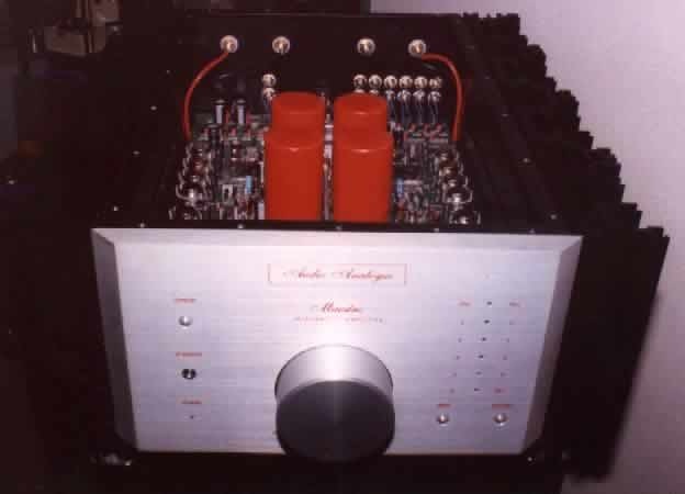 [Audio Analogue Maestro integrated amp]