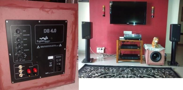 [DIY subwoofer with Dayton and Hypex]