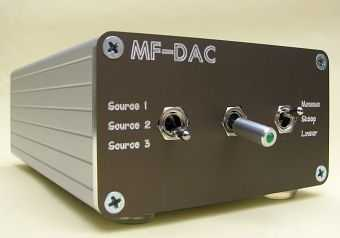 [Mark Findlay Audio DAC - front panel]