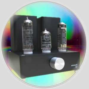 [Miniwatt N3 integrated valve amplifier]