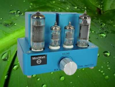 [Miniwatt integrated valve amplifer (blue version)]