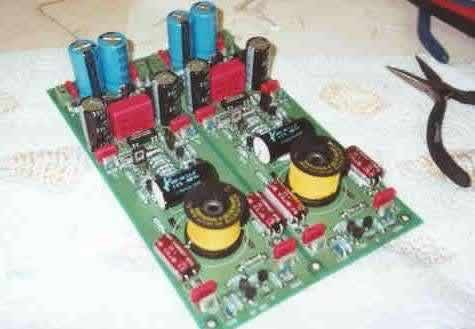 [MP-DAC analogue board: dig them yello coils!]