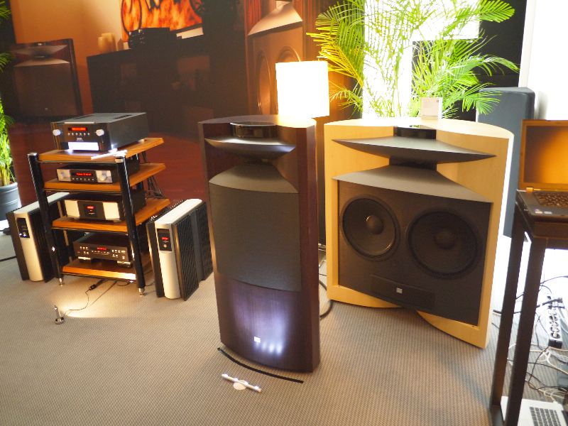 [JBL Everest D66000 (two woofers) and K2 S99C0 (one woofer)]