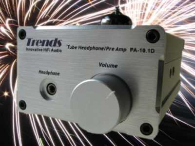 [Trends PA-10D GE valve pre/headphone amplifier]
