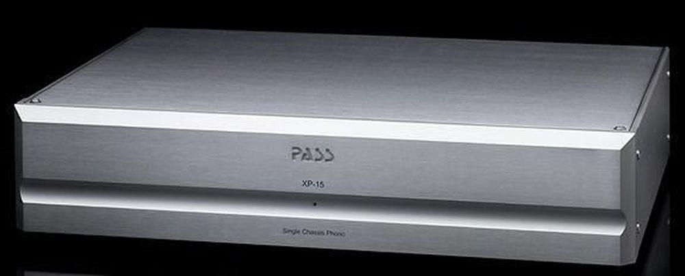 [Pass Labs XP-15 - Phono preamplifier, front]