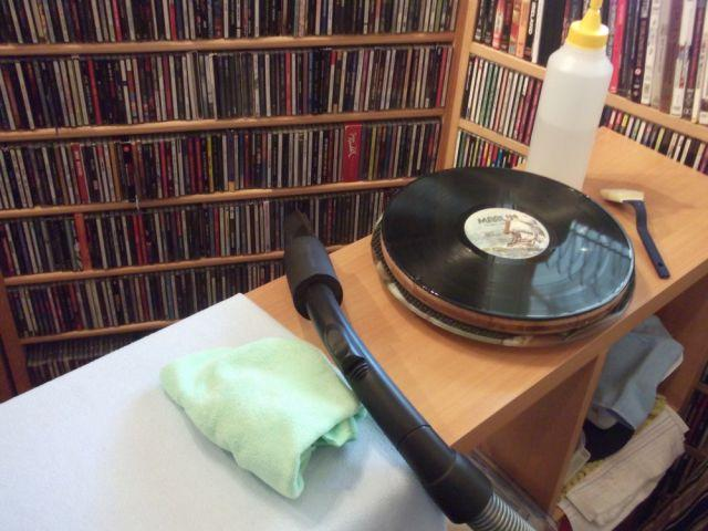 [Record cleaning made easy]