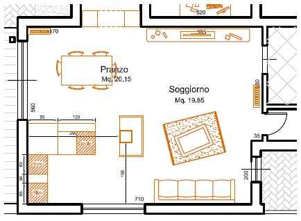 Beautiful Dimensioni Sala Da Pranzo Ideas - Modern Home Design ...