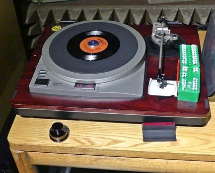 [SP-15 turntable with custom styli]