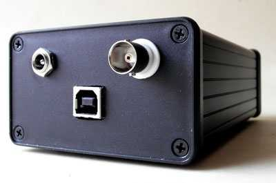 [John Kenny SPDIF Mk 3 USB converter - rear view.]