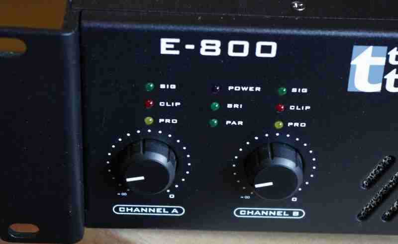 Review Thomann T Amp E800 Pro Pa Amplifier English