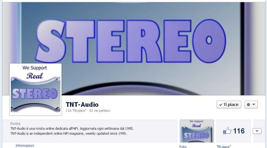 [TNT-Audio su Facebook]