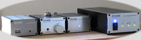 [Trends Audio 'system' with PW-10 power supply unit]