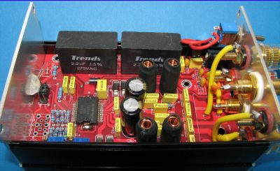Trends Audio TA-10.2.P class-T power amplifier - interior