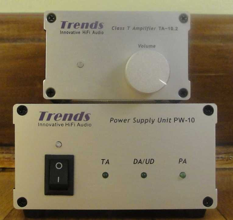 [Trends Audio TA 10.2 and PW10 front]