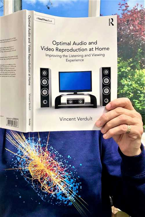 "[Copertina del libro ""Optimal Audio and Video Reproduction at Home: Improving the Listening and Viewing Experience"" di Vincent Verdult]"