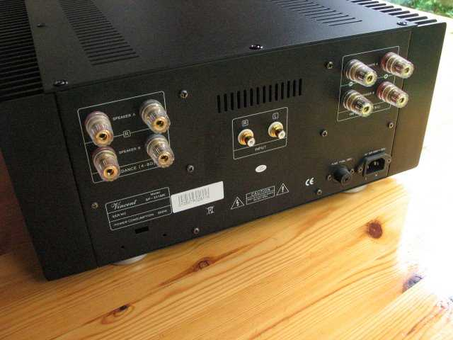 [Vincent SP-331MK power amp]