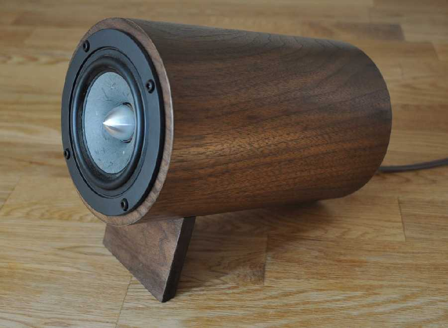 [The Well Rounded Sound WP2 speakers]