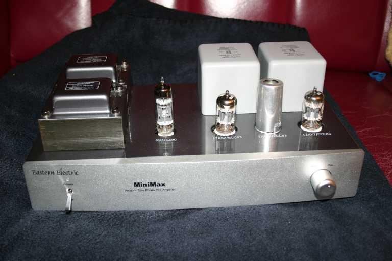 Eastern Electric Audio MiniMax Tube Phono Amp - [English]