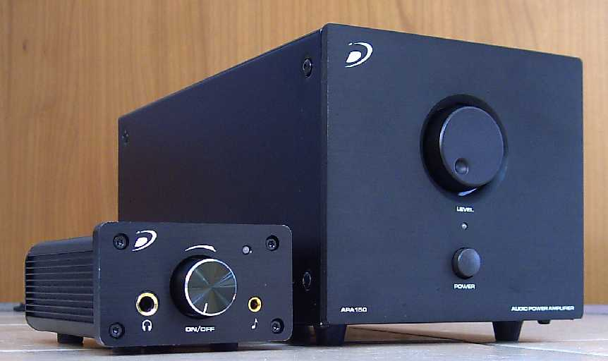 [Dayton Audio APA-150 and DTA-100]