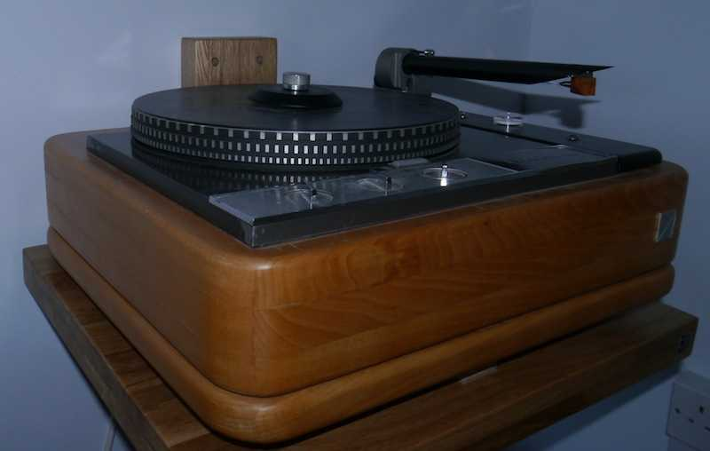 [Garrard 401 with Wand & Benz Micro Wood]